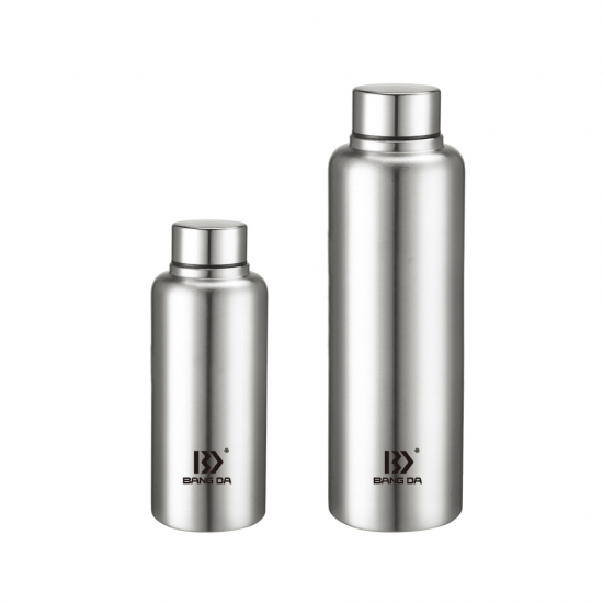Stainless Steel Single Wall Water Bottle